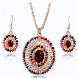 Gold Plated Colorful Set